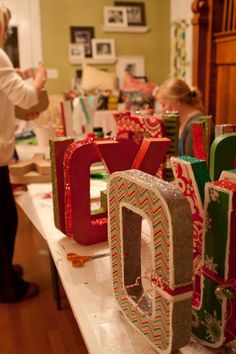 from Whatever blog- Craft weekend