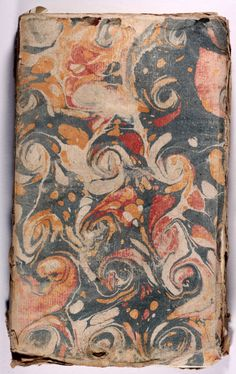 French Periodical | Marbled paper covers | 1757