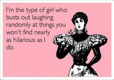 i have a crazy sense of humour....