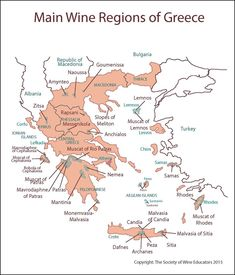 Greece #wine #wineeducation