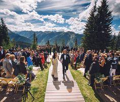 Spectacular Scenic Aspen Weddings | The Little Nell