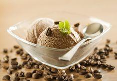 Kávová zmrzlina ze salka
