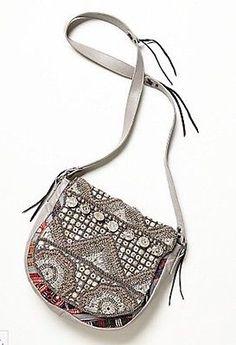 Free People Embellished Crossbody Bag