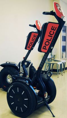 OSU PD Deploy Segway Patrollers after hearing positive feedback from Kansas University's experience with our products!
