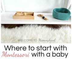 One of the questions I get asked the most is: I don't know where to start. What should I do? Many times, these are expecting mothers, unsure of where to begin to create a Montessori environment, specifically for their babies. Let's take some time to discuss how to prepare yourself for your Montessori baby, what