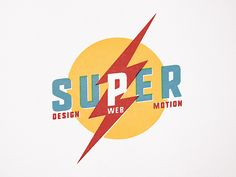 SUPER – design web motion designed by Chris Corrado. Badge Logo, Band Logos, Saint Charles, Create A Logo, Show And Tell, Motion Design, Letterpress, Metal Working, It Works
