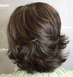 Medium Feathered Haircut for Thick Hair