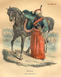 Mameluke of the Imperial Guard of Napoleon / Мамелюк императорской гвардии Наполеона.