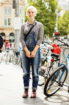 Jardineira Jeans / Denim overall