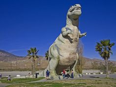 Dinosaur Roadside Attraction at Cabazon, Greater Palm Springs Area, California