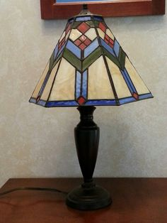 Stained glass 6 panel prairie style