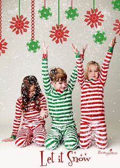 Cute Christmas photo shoot. Great for older kids