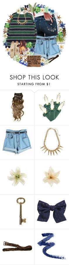 """""""//now i'm your daisy♥"""" by tropical-songwriter ❤ liked on Polyvore featuring &K, Chicnova Fashion, Rachel Antonoff, Clips, H&M, Hollister Co. and living room"""