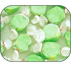 Green Pear Salt Water Taffy: 5LB Bag