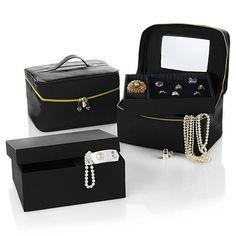 "JOY ""Jewel Kit Trio"" Buy 1, Get 1 Plus Large Jewel Box"