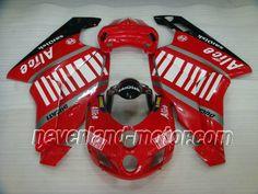 Ducati 749 / 999 2005-2006 ABS Verkleidung - Alice #motorradverkleidungducati999 #verkleidungducati999