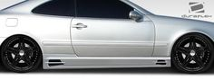 1998-2002 Mercedes CLK W208 Duraflex BR-T Side Skirts Rocker Panels - 2 Piece