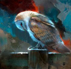 #owl, psdelux ... on ArtStation at https://www.artstation.com/artwork/06EYY