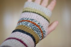 Sandra Juto's crochet wrist