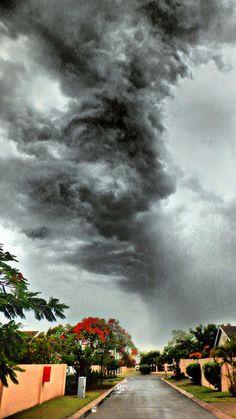 Storm In Africa --- Maputo Mozambique | von Dima Manuel