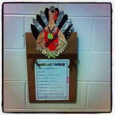 Crazy for First Grade: Turkey Fever!!!!