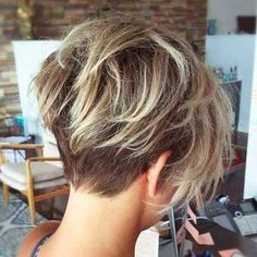 Cool back view undercut pixie haircut hairstyle ideas 23