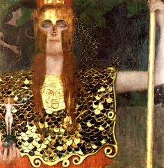 Gustav Klimt - Pallas Athene, 1898