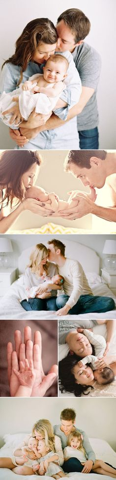 30 Love-Filled Photos Every Parent Must Take with their Newborn! Family love