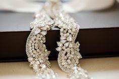 Bridal dress belt - Style S37 from MillieIcaro