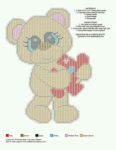I LOVE YOU TO PIECES BEAR 1 by JODY VIGEANT