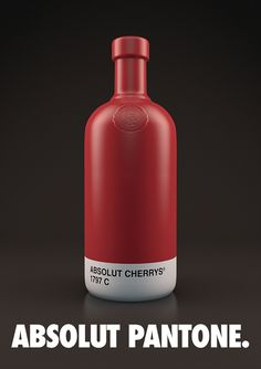Absolut Pantone on Packaging of the World - Creative Package Design Gallery