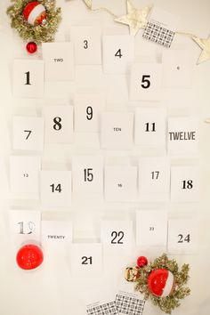 Free printable Acts of Kindness Advent Calendar - Lovely Indeed