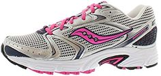 Saucony Womens Grid Oasis 2 SilverPinkNavy Blue Running Shoes 8 >>> Click on the image for additional details.