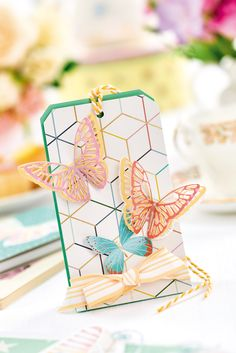 Die-cut a treat bag in the January issue of Crafts Beautiful, on sale 7th December 2017