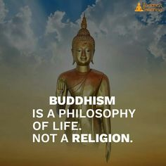 Buddhism is a philosophy of life not a religion Buddhist Teachings, Buddhist Quotes, Spiritual Quotes, Wisdom Quotes, Buddhism Religion, Spiritual Gangster, Spiritual Path, Qoutes, Buddha Wisdom