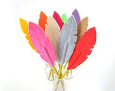 Hey, I found this really awesome Etsy listing at https://www.etsy.com/listing/168166032/felt-feather-pencil-topper-quill-writer