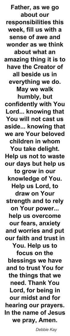 Amen 'Sister Haze,' I mean, Miss Debbie Kay. In Jesus name, we claim it. Prayer Times, Prayer Scriptures, Bible Prayers, Faith Prayer, Prayer Quotes, Spiritual Quotes, Bible Quotes, Bible Verses, Qoutes