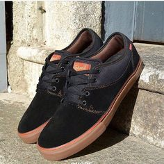 Globe Shoes, Globe Brand, Globe Mahalo Black/Tobacco