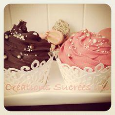 Cupcakes vitrine Saint-Valentin 2014.