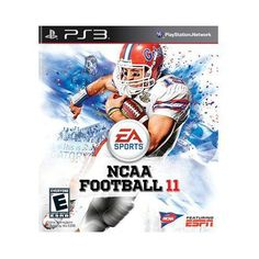 New Electronic Arts Ncaa Football 11 Sports Game Concurrent Product Standard 1 User Retail Ps 3 « Game Searches