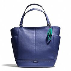 COACH PARK LEATHER NORTH SOUTH TOTE LARGE $250