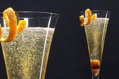 French 75 - Mixologists around the world make this fizzy, lemony drink with gin, but New Orleans bartenders opt for cognac.