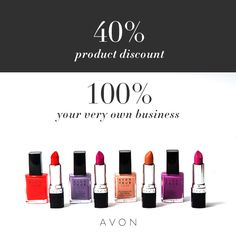 Join the Avon Nation and cash in on your passion. Because when you start your own business and sell Avon, you earn doing what you love. Work from home and earn up to selling Avon anywhere – part-time or full-time in sweats or stilettos. Get started now! How To Make Money, How To Become, Make Up, How To Get, Mascara, Anti Aging, Avon Care, Entrepreneur, Leadership Programs