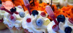 My favorite Berko Cupcakes! Avec sa petite pipette et son coeur surprise. Tellement addictif!