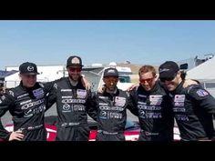 Interview with Kamil Franczak at Mazda Laguna Raceway - YouTube