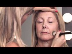 Makeup Tips for Older Women : How to Apply Makeup Right After 50 to Minimize Wrinkles - YouTube