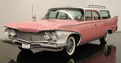 1960 Pink Plymouth Fury Sport Suburban