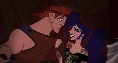 goth disney princesses | hercules # metalhead megara # scene disney # disney