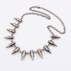 Perpetua Bullet Necklace – Milky Moon
