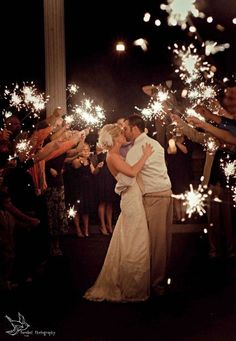 sparklers for wedding;sparklers at wedding; Wedding Exits, Our Wedding, Dream Wedding, Wedding Send Off, Sunset Wedding, Wedding Reception, Wedding Wishes, Wedding Bells, Sparkler Send Off